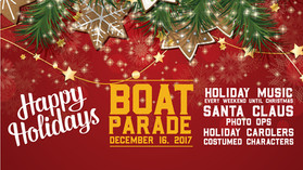 ~ Shoreline Village (Long Beach) Annual Christmas Boat Parade