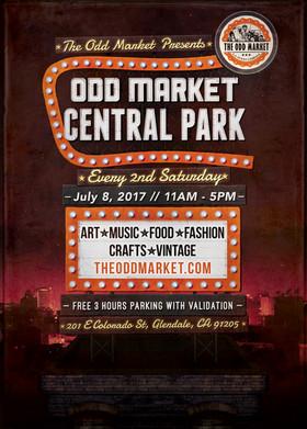 ~ Odd Market in Central Park