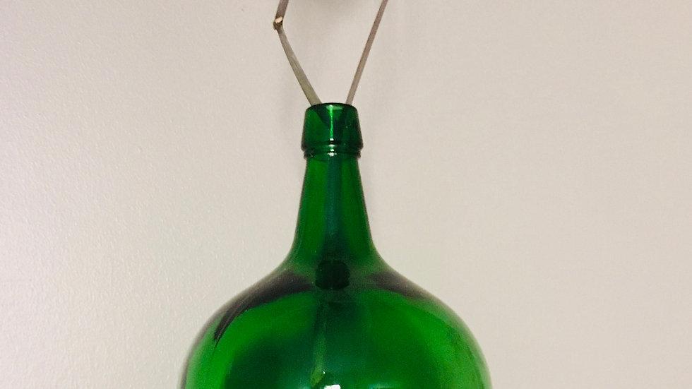 Bonbonne ancienne verre vert