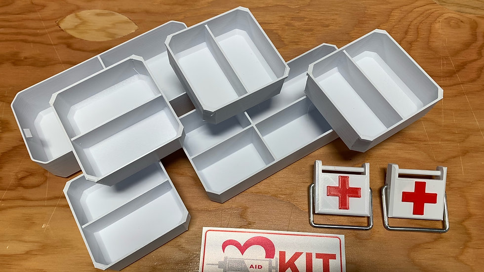 Milwaukee Organizer DIY First Aid Kit
