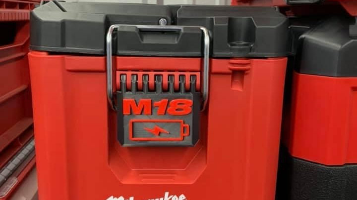 M18 Battery Latch