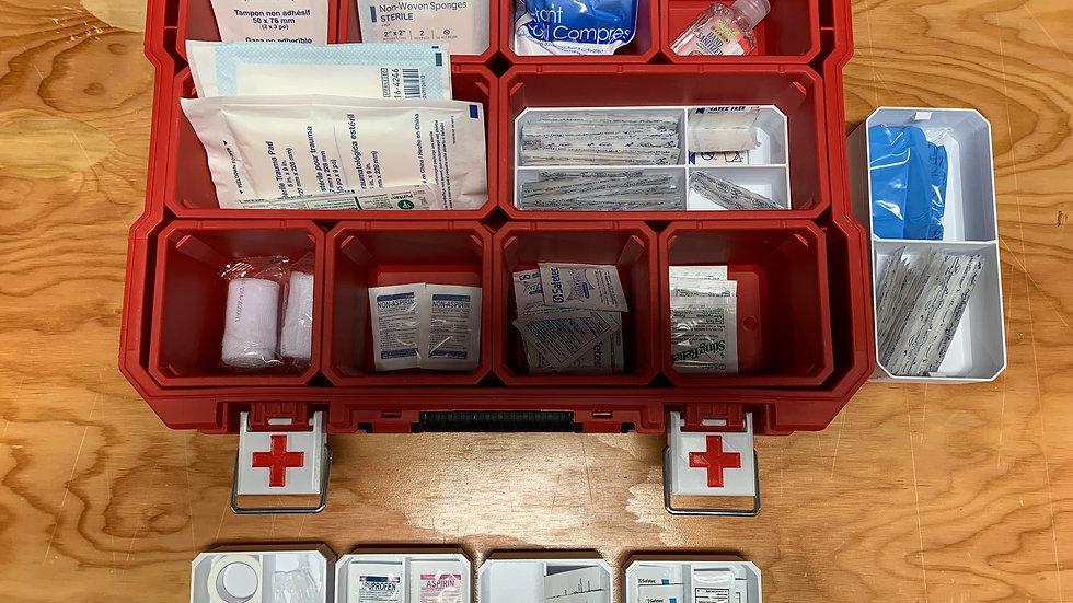 Milwaukee Organizer Complete First Aid Kit