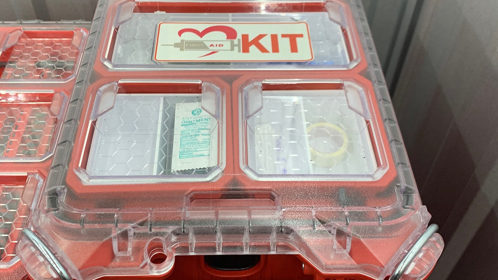Complete Half Sized Packout First Aid Kit