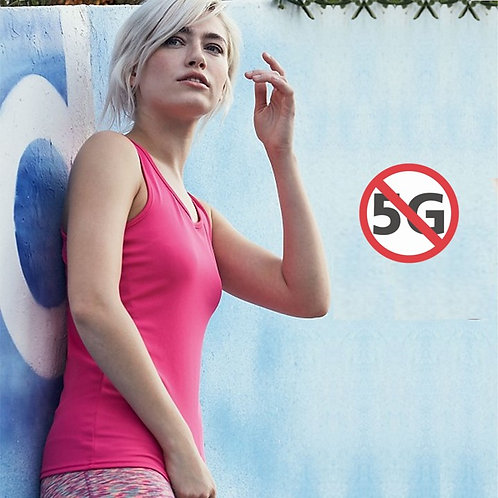 5G SÄTEILYSUOJA HIHATON PAITA | SILVERCELL | EMF TANK TOP FOR WOMEN