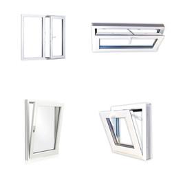 D/K PVC komposiitti-ikkunat