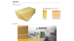 Eriste vaihtoehtoina mineraalivilla ja aito puukuitueriste