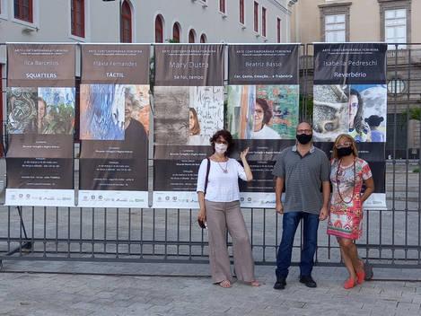 Com os curadores da Trartagliaarte de Roma