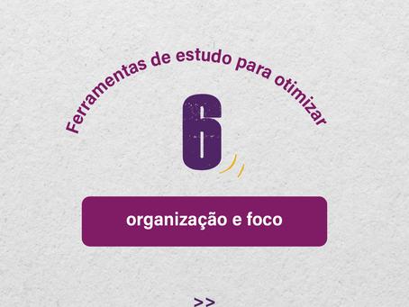 6 ferramentas de estudo para otimizar sua organização e foco