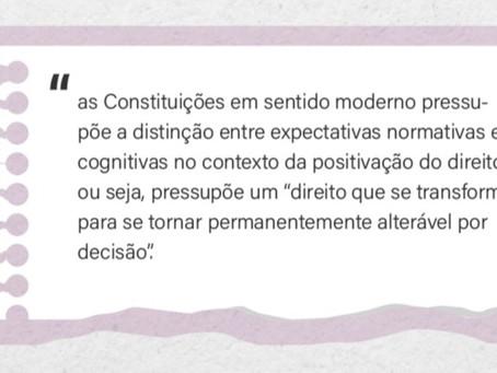 Constituição em sentido moderno