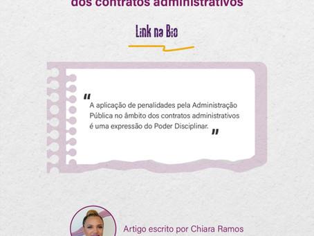 O poder disciplinar e as clausulas exorbitantes dos contratos administrativos