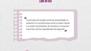 FUNÇÃO SOCIAL DA PROPRIEDADE: evolução normativa