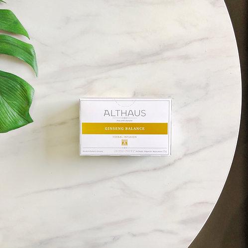 Пакетированный чай Althaus Ginseng Balance