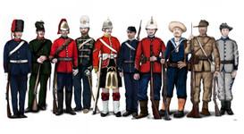 Queensland colonial uniforms