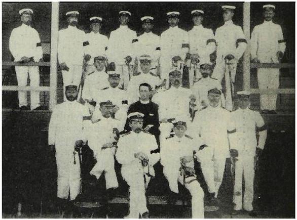 Senior Queensland naval officers, 1901