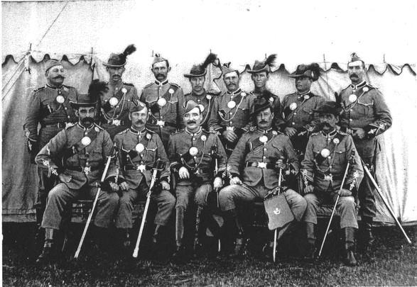 Queensland Rifles at Lytton