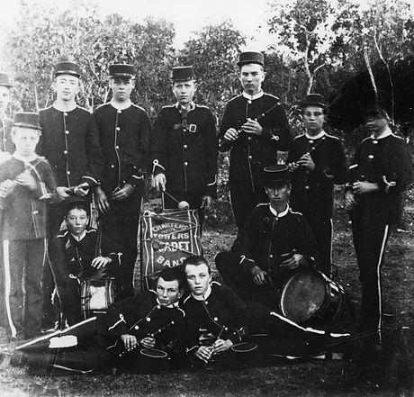 Charters Towers Cadet Band c1890-SLQ7542