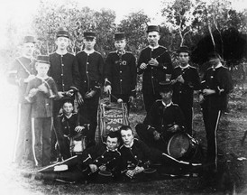 Charters Towers Cadets fife and drum band