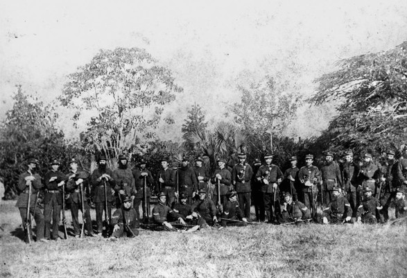 Spring Hill and Fortitude Valley Rifles, 1868