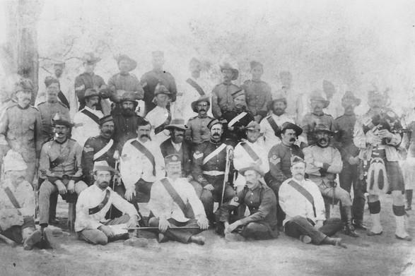 NCOs during Shearers Strike, 1891