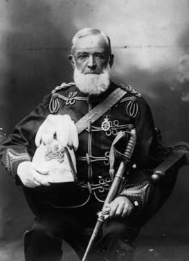 Lieutenant-Colonel JH Adams, c1902