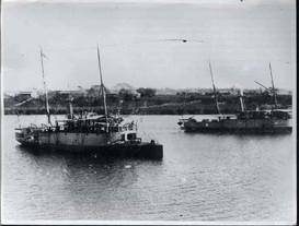 Queensland gunboats Gayundah and Paluma