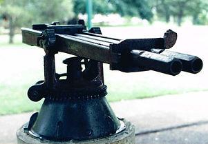 2 barrel 1inch Nordenfelt iii - Maryboro