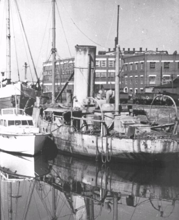Former gunboat Paluma