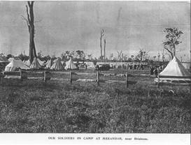 Meeandah Mobilisation Camp, 1899