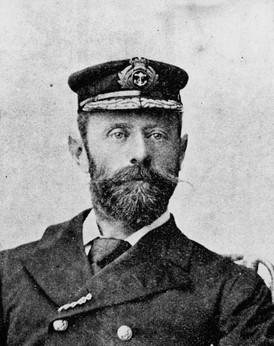 Acting Naval Commandant Walton Drake RN