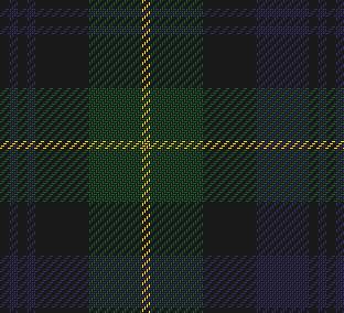Gordon Regimental tartan