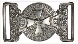 Officers belt buckle