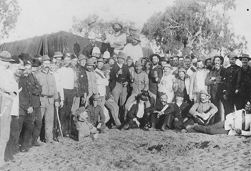 1891 Shearers Strike Barcaldine JOL 4565