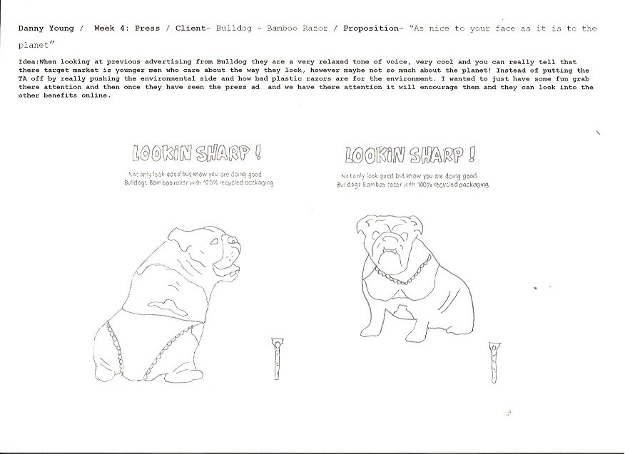 Bulldog Razor