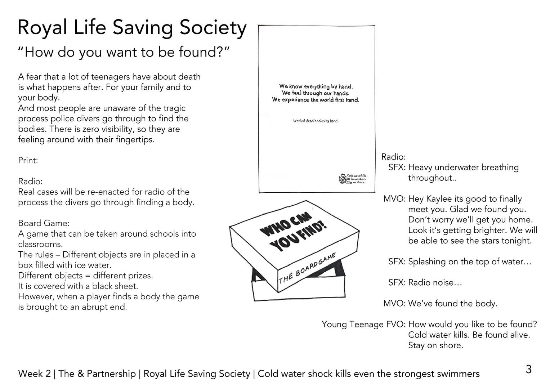 Beth Crompton - 2. Royal Life Saving Soc