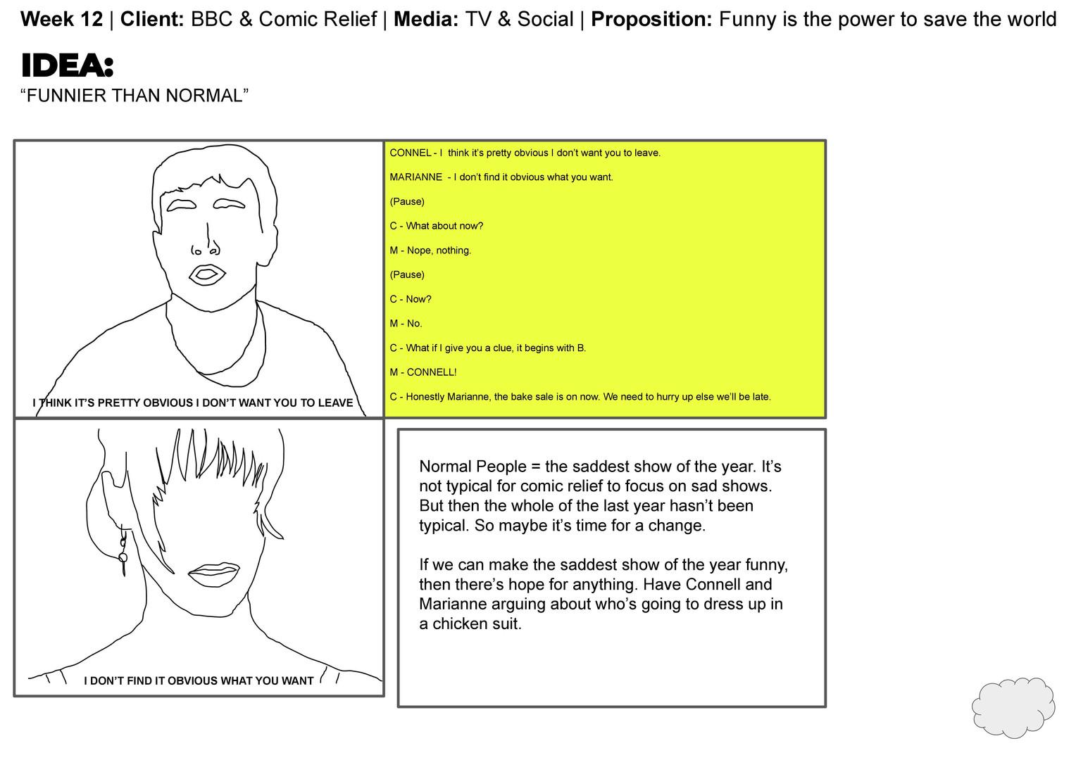 Claudia Cardinali - 12. BBC Comic Relief