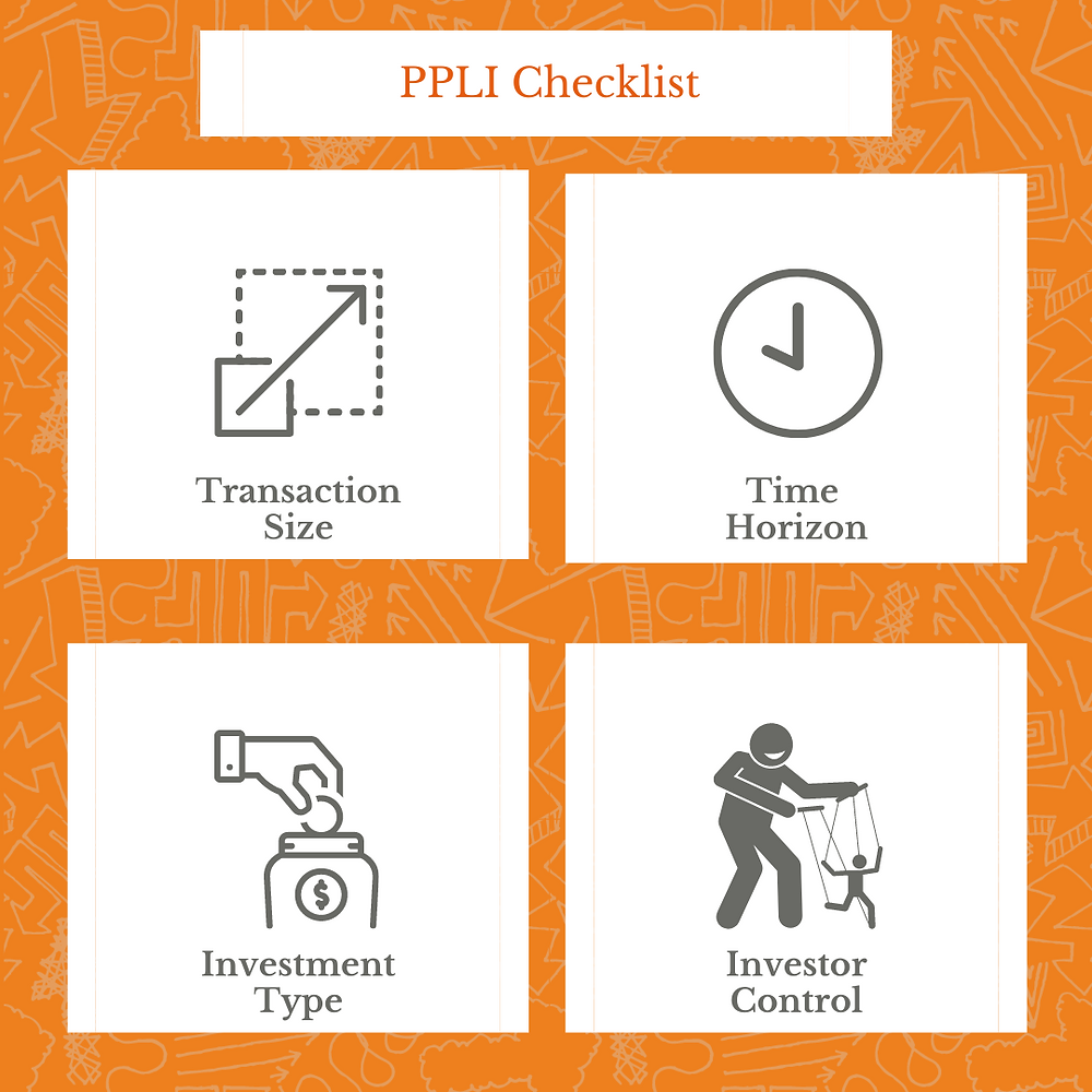 Private Placement Life Insurance (PPLI) checklist