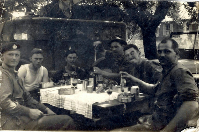 Tank crew, Burley R-gunner,Will Bowcott-