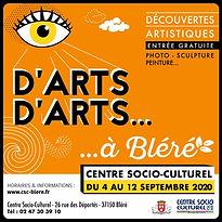 Festival D'ARTS D'ARTS, Ecologie, 2020
