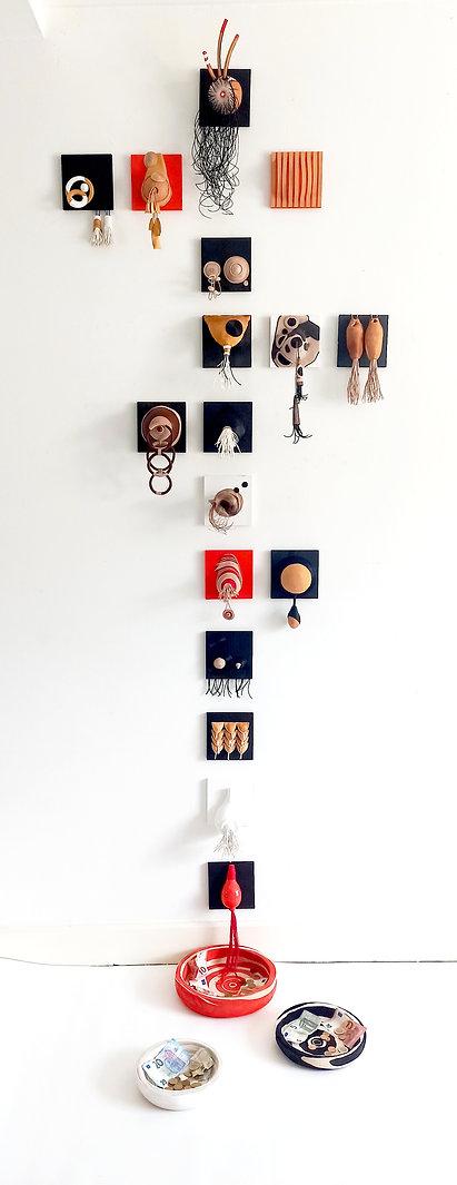 Copie de Totemère, installation, sculptu
