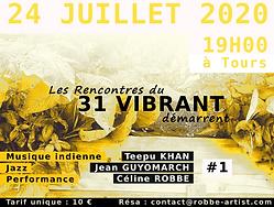 flyer Les Rencontres du 31 VIBRANT juill
