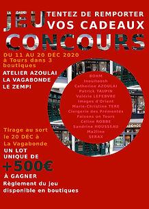 Affiche JEU CONCOURS 2020, tentez de rem