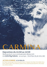affiche_Carmina_exposition_paris_little