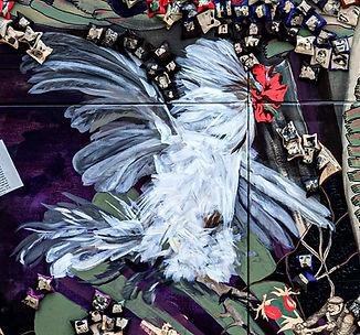 Le Sacre de chauves, détail, ©Céline Rob