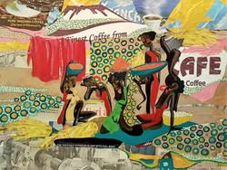 La récolte du café : Kilimandjaro