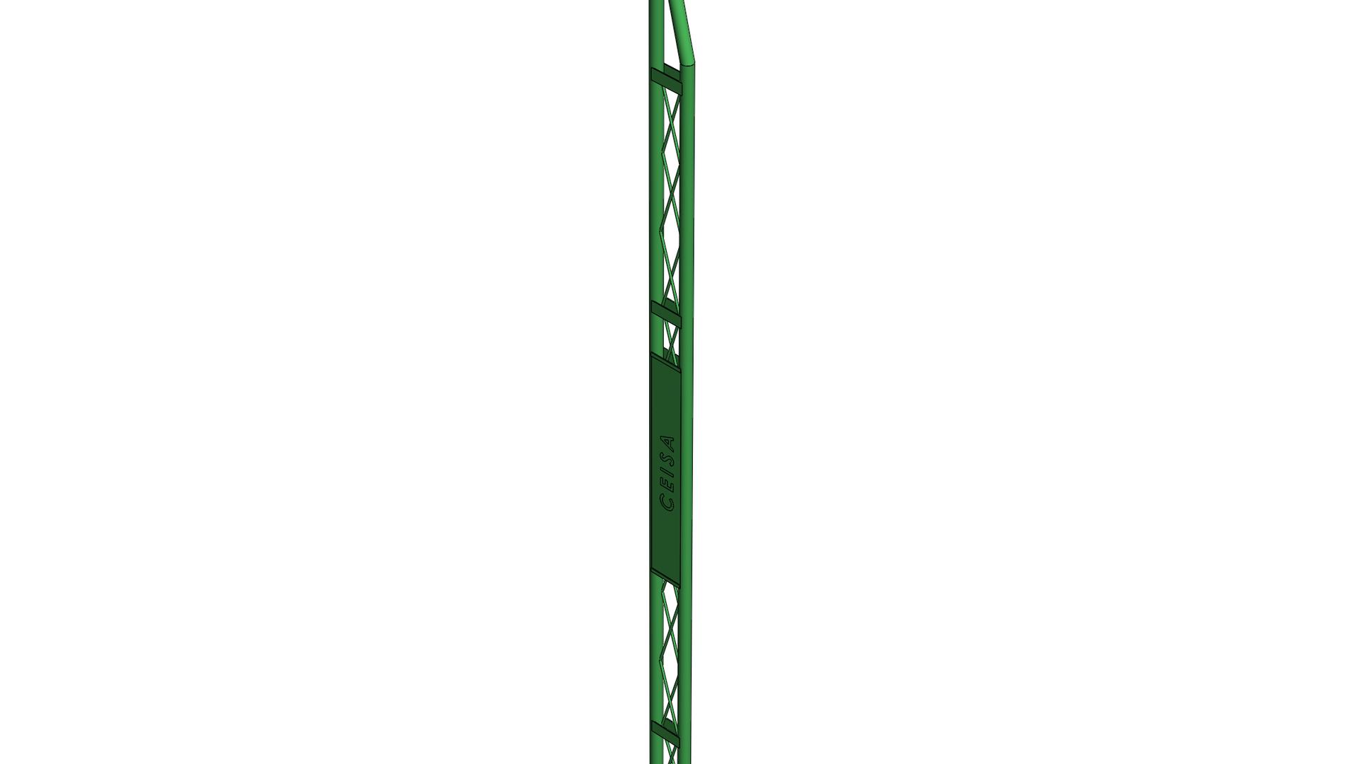 Torre acero tubular S-9