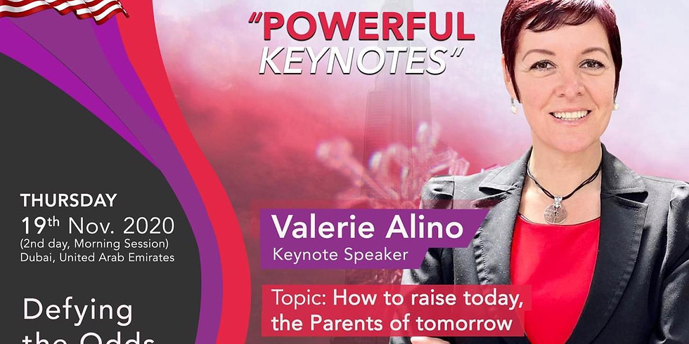 """""""How to raise today, the parents of tomorrow """" Global Women Empowerment Summit 2020"""