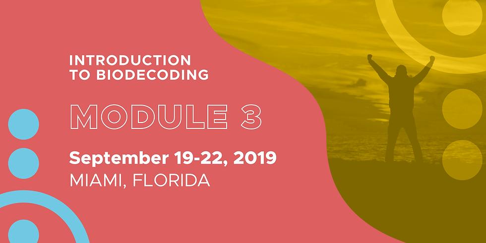 Module 3   Biodecoding Training Courses Level 1