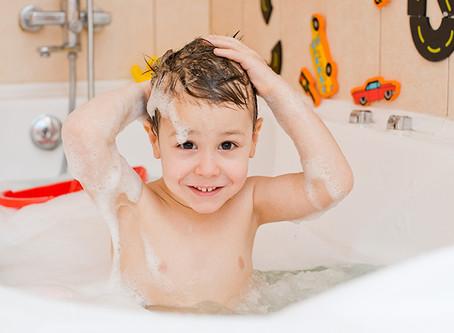 Bañarse... un espacio de terapia para mi hij@ con y sin autismo