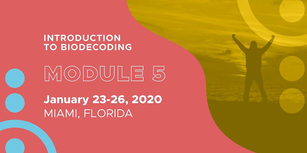 Module 5 | Biodecoding Training Courses Level 1