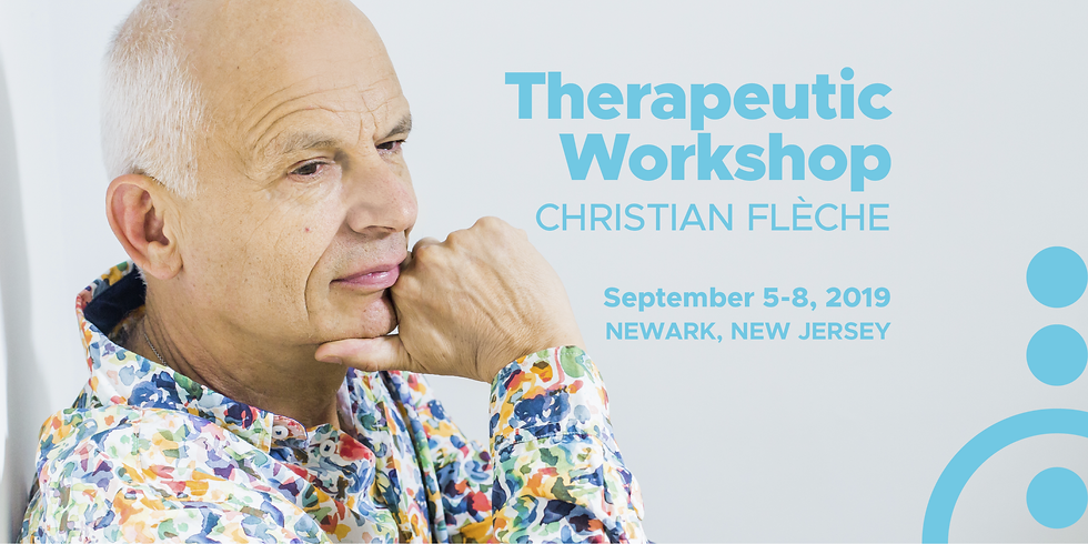 Therapeutic Workshop with Christian Flèche in New Jersey